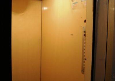 Nowa winda w starym szybie